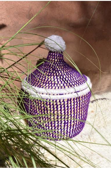"Palm Tree Basket ""Pensée"""