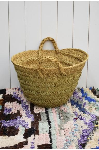 "Rafia basket ""Countryside"""
