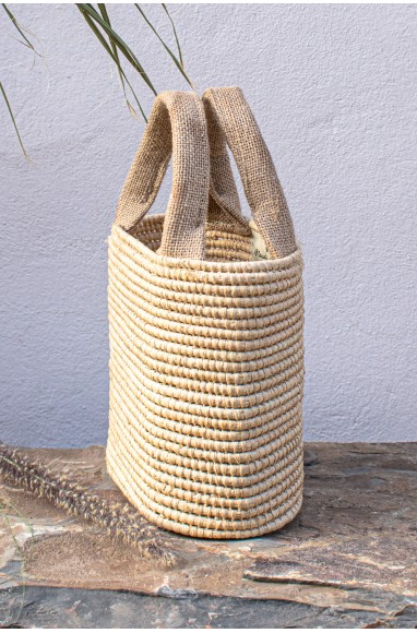 "Palm tree and linen basket ""Oval"""