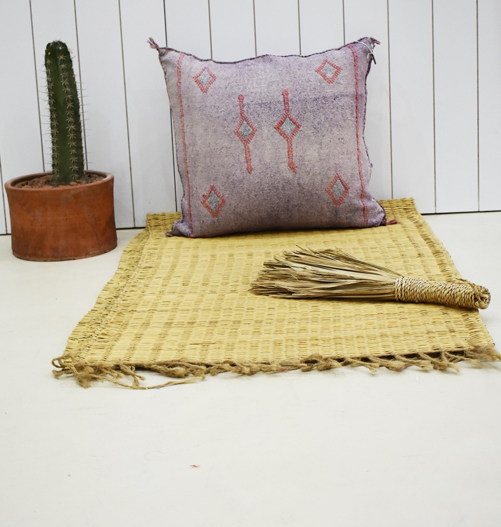 Cushion cover 45x45 berber purple