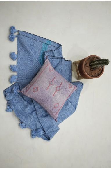 Cushion cover 45x45 berber purple