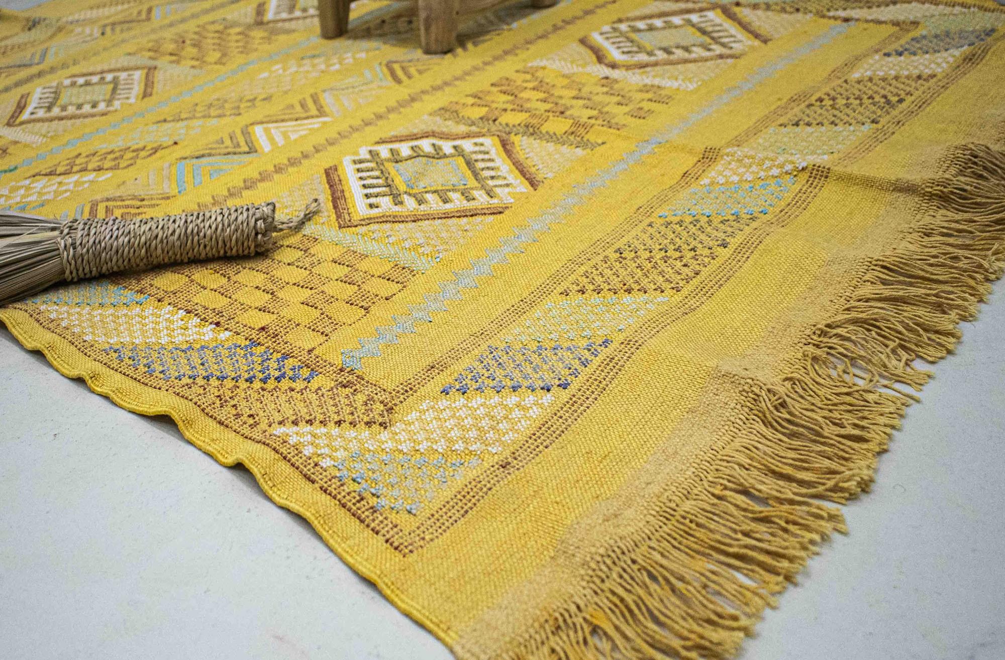 "Sabra rug ""Temple of the Sun"""