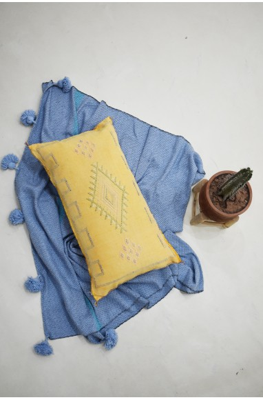 Traversin sabra jaune