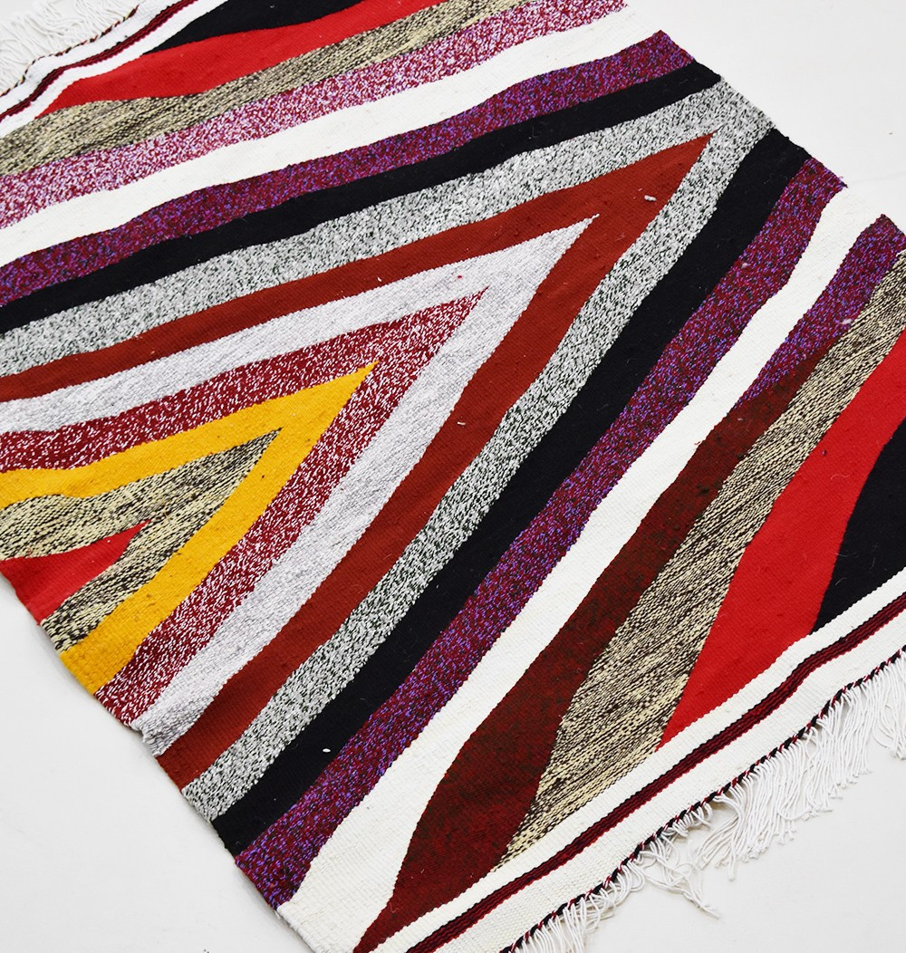 Tapi Kilim Heather lines