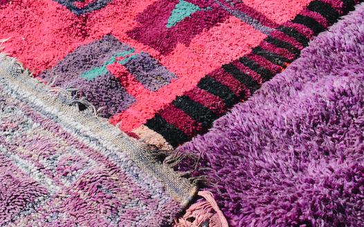 vintage berbere carpet