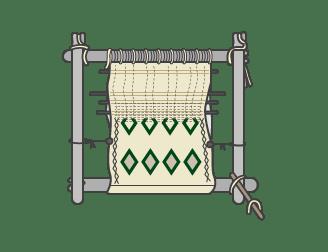 metier a tisser tissage tapis berbere