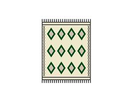 Handweaving carpet berber handmade