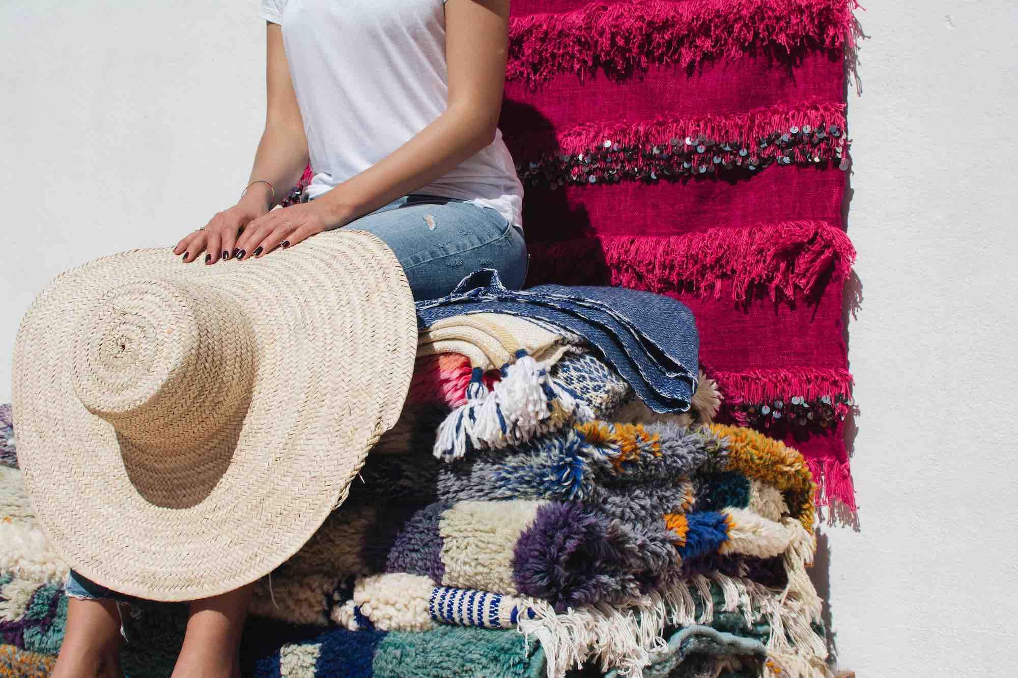 tapis artisanat marocain