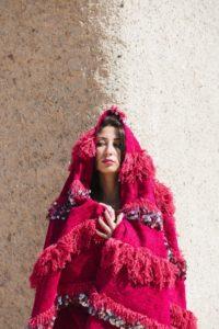 handira berbere, plaid berbere, couverture berbere