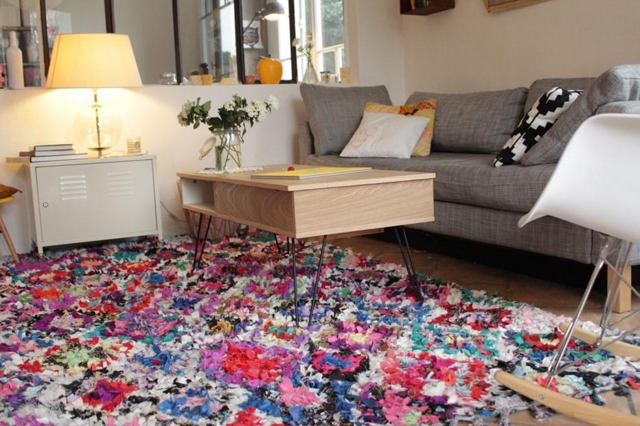 tapis vintage et d coration d 39 int rieur d coration le. Black Bedroom Furniture Sets. Home Design Ideas