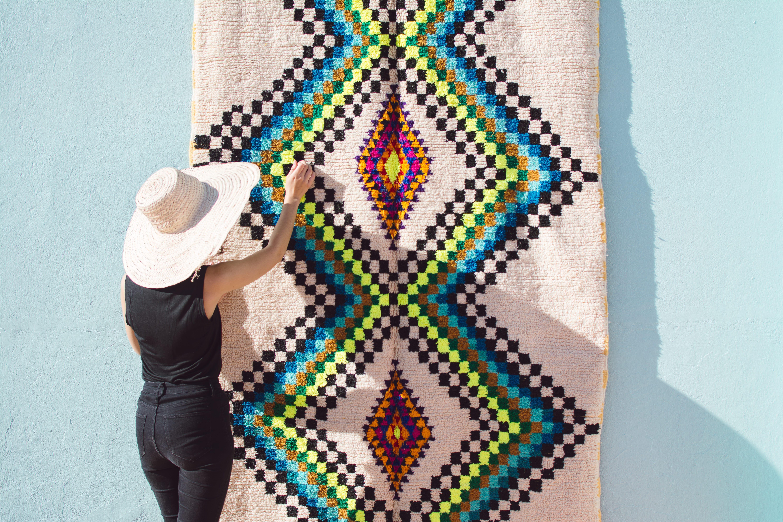 Tapis Azilal : le tapis berbère aux mille et une couleurs