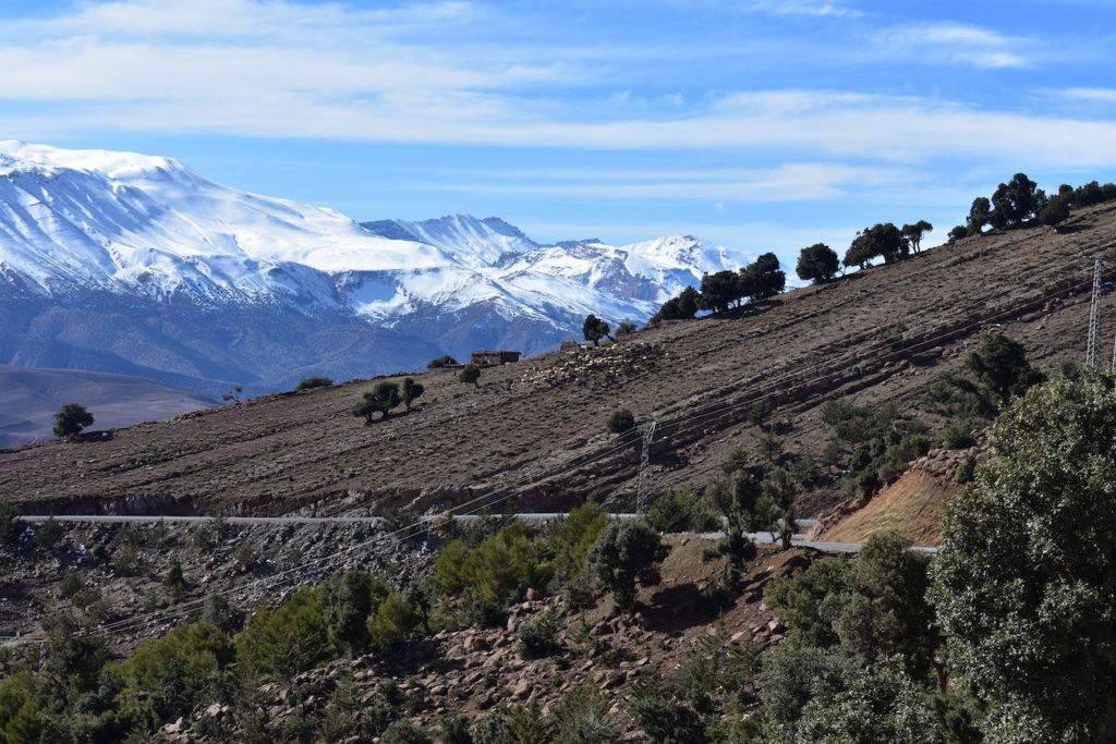 village berbere maroc